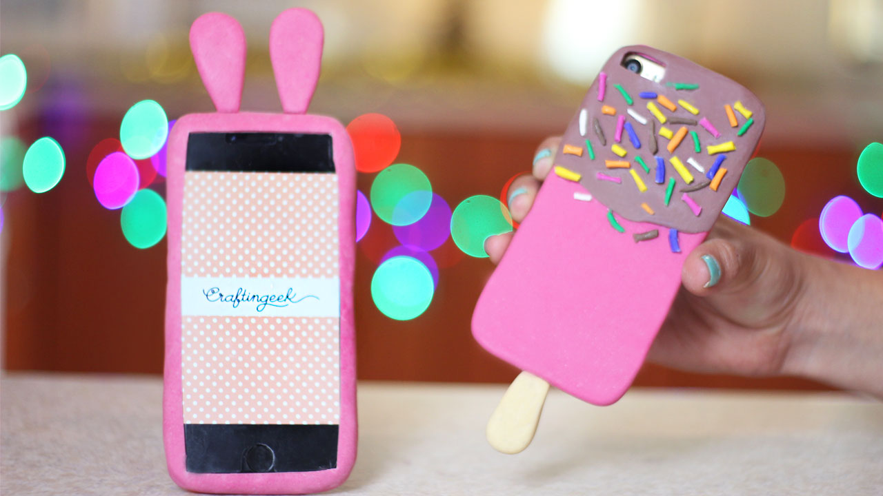 3d1dbeec6d0 10 Fundas decoradas para el celular que debes intentar ~ Craftingeek
