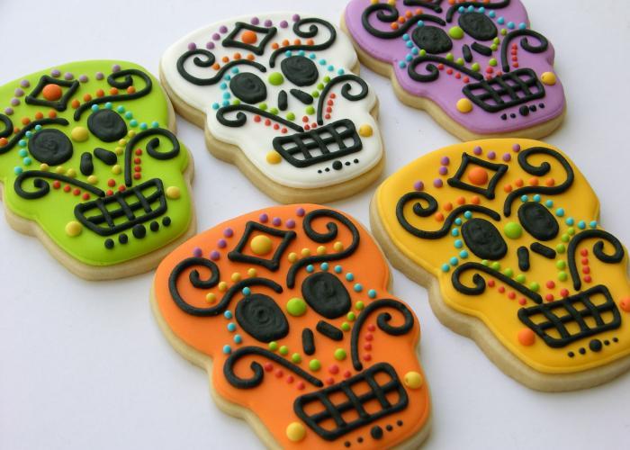 galletas dia de muertos