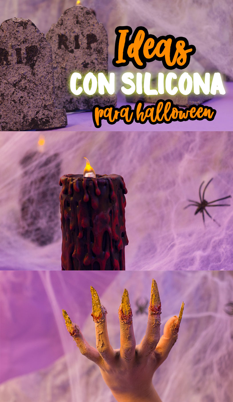 trucos para halloween con silicona