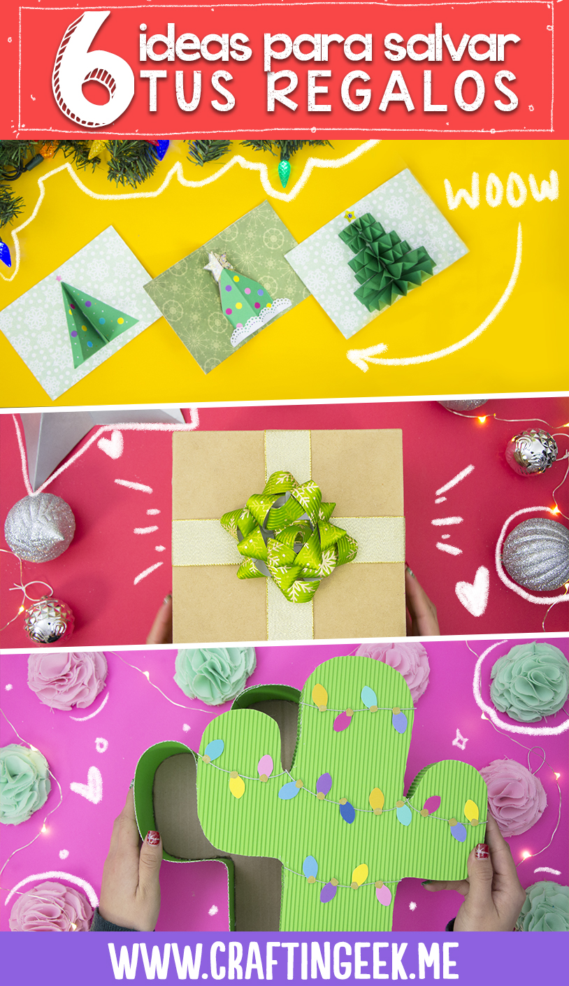 6 ideas de regalos faciles