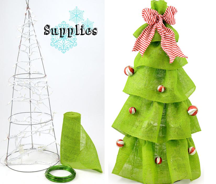 15 Ideas Para Hacer Tu Propio Arbol De Navidad Craftingeek - Hacer-arboles-de-navidad