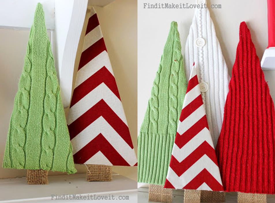 20 Ideas Faciles Para La Decoracion De Navidad De Tu Casa Craftingeek - Decoracion-navidea-facil-de-hacer