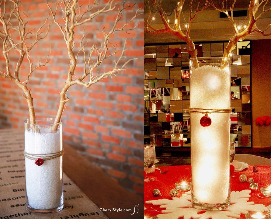 12 ideas que puedes hacer con luces de navidad craftingeek - Preparar mesa navidad ...