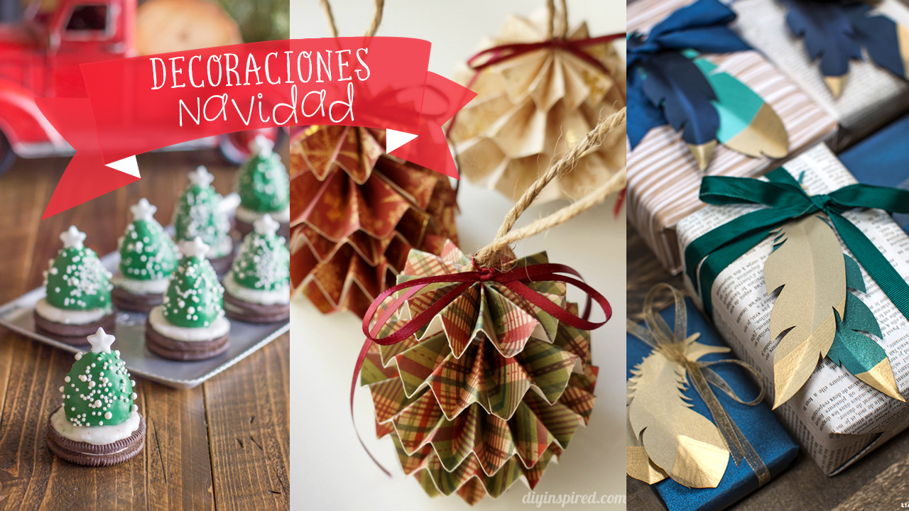 20 ideas f ciles para la decoraci n de navidad de tu casa craftingeek - Decoraciones para navidad ...