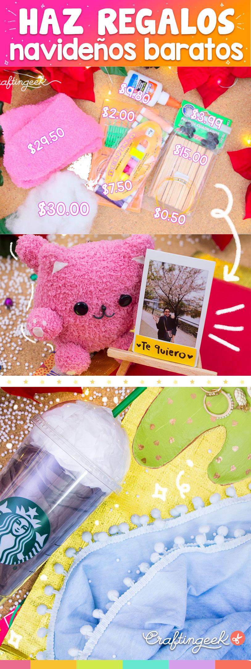 3 ideas de regalos originales para navidad craftingeek - Regalos bonitos para navidad ...