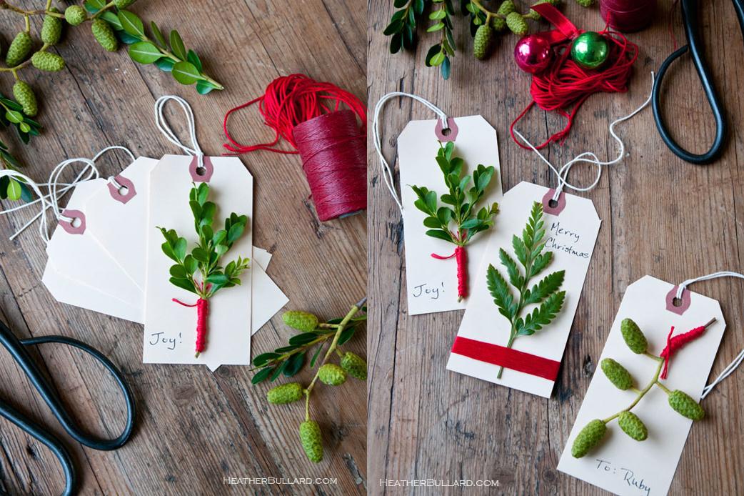 tags o etiquetas para regalos