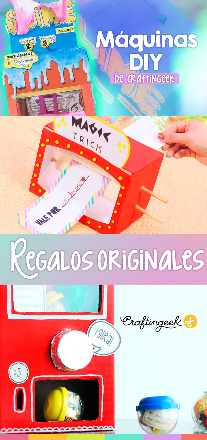 maquinas caseras craftingeek