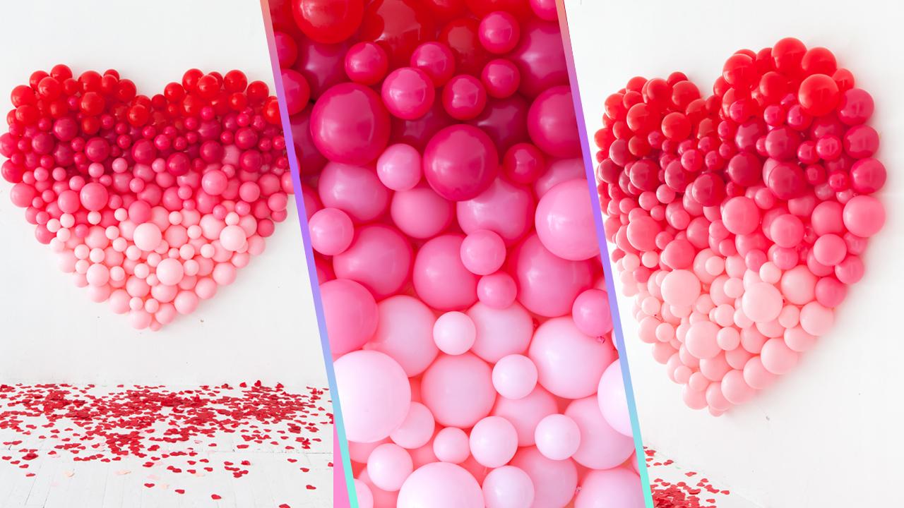 ideas-decoracion-con-globos-corazon-gigante