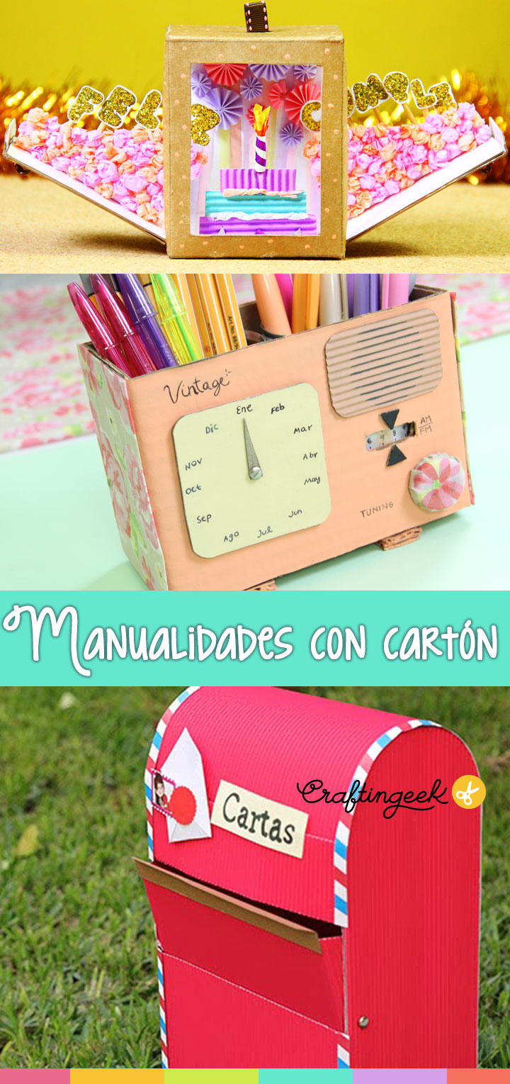manualidades-con-carton-craftingeek