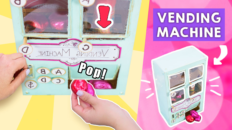 maquina expendedora de dulces que funciona
