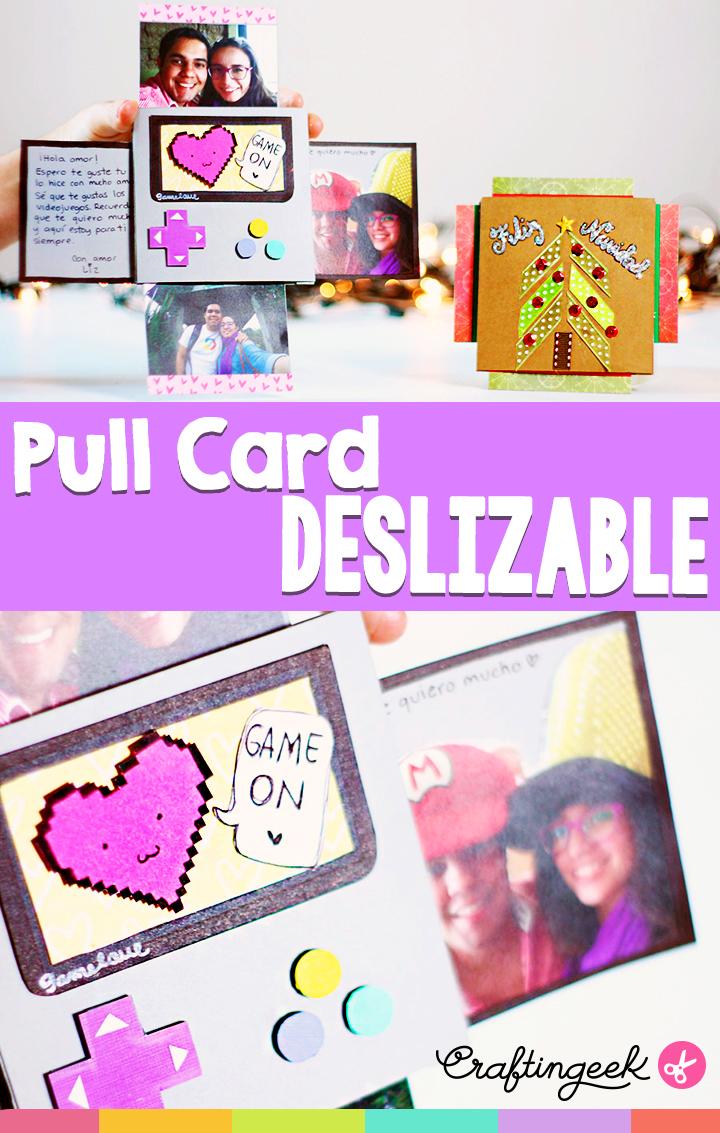 Tarjeta deslizable dobe pull card