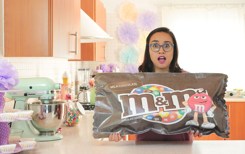 como-hacer-un-m&m-chocolate-gigante