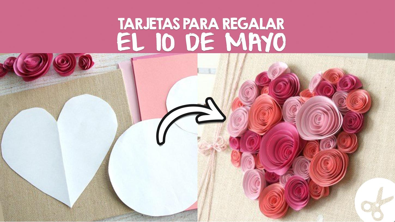 Tarjetas con flores para sorprender a mam craftingeek for Ideas para mama