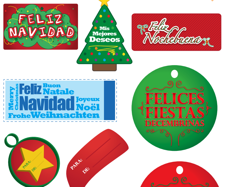Decoraciones Para Tarjetas Navideñas Craftingeek