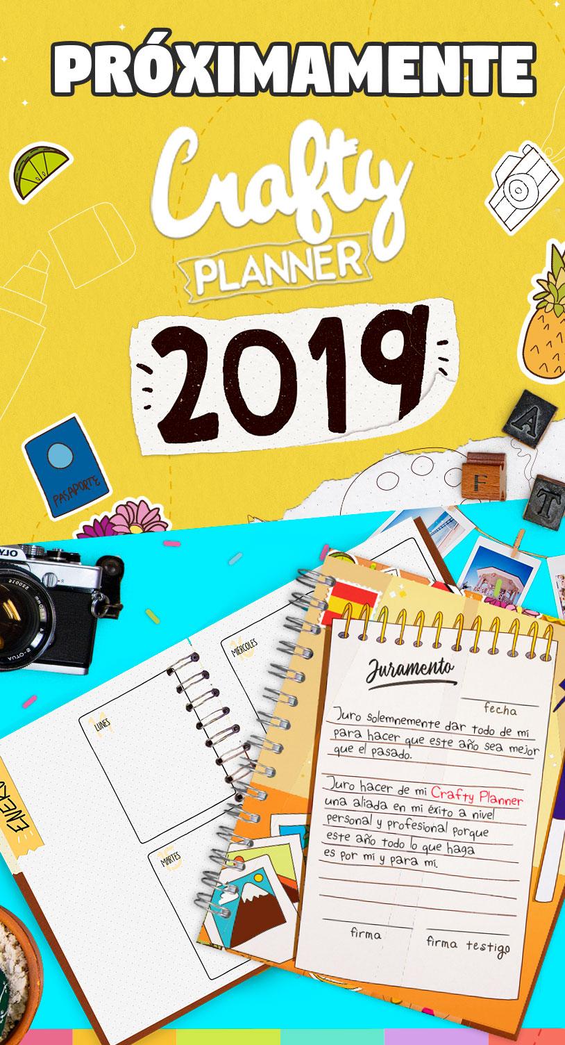 Próximamente Crafty Planner 2019