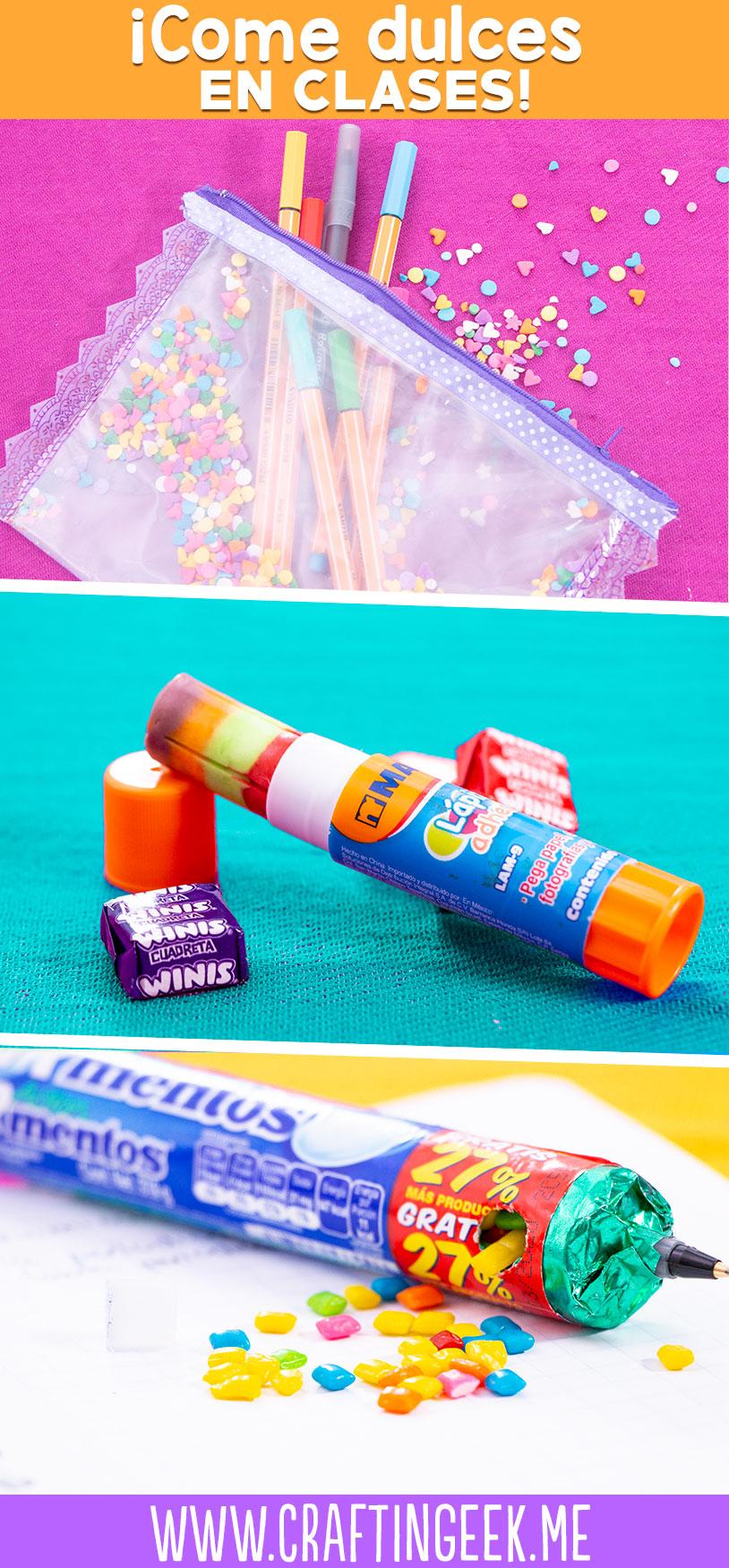 útiles Escolares Para Comer En Clase Con Gibby Crafty Tour