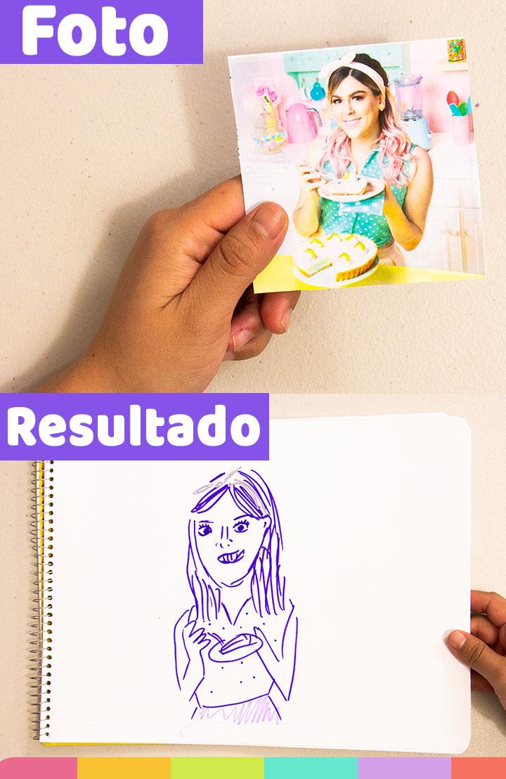 Dibuje a Gris de Mis Pastelitos, me esforcé mucho utilizando marcadores morados ¡No me odies Gris!   I draw Gris from Mis Pastelitos, I used purple markers, Don't hate me Gris!